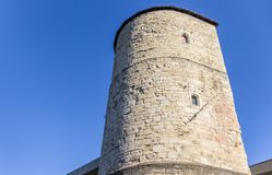 Medieval defense tower Beginenturm in Hannover Stock Photo