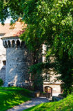 Medieval tower in tallinn Royalty Free Stock Photo
