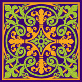 Medieval Design. With isometric patterns Royalty Free Stock Photo
