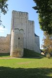 Loches Donjon and Keep, France. Medieval donjon and keep in Loches, France royalty free stock images