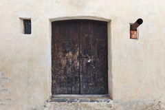 Medieval door Royalty Free Stock Image