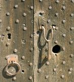 Medieval door Stock Image