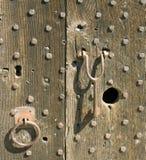 Medieval door Stock Image