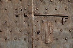 Medieval door Royalty Free Stock Photo