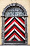 Medieval door in Chur Royalty Free Stock Images