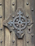 Medieval door detail Stock Photography