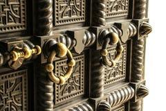 Medieval door Stock Photography