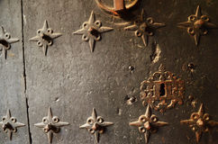 Medieval door Royalty Free Stock Images