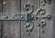 Medieval Door HInge Royalty Free Stock Photo