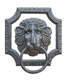 Medieval door knocker cutout Stock Photos