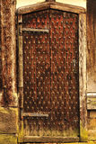 Medieval door, Rufford old hall, Lancashire Royalty Free Stock Images