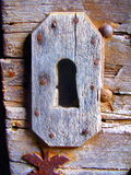 Medieval Doorlock Stock Photo