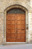 Medieval doorway Stock Photos