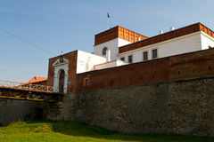 Medieval Dubno Castle Stock Photos