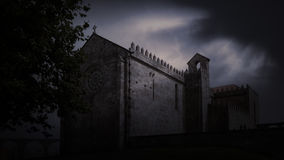 Medieval dusk Stock Images