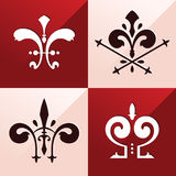 Medieval emblem ornament Royalty Free Stock Image