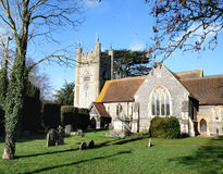 Medieval English Church Royalty Free Stock Images