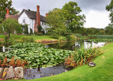 Medieval English Manor Farmhouse Royalty Free Stock Images