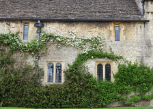 Medieval English Manor and Garden Royalty Free Stock Photo