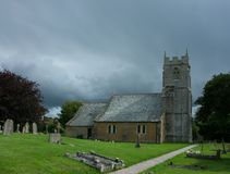 Medieval English parish church Royalty Free Stock Images