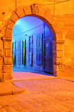 Medieval entrance Royalty Free Stock Photo