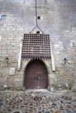 Medieval entrance Stock Photo