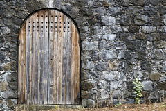Medieval entrance Royalty Free Stock Photography