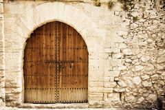 Medieval entrance Stock Photography