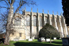 Medieval Eton College Chapel Royalty Free Stock Photos