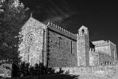 Medieval european abbey Royalty Free Stock Photography