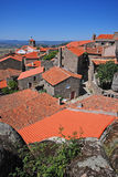 Medieval european village Monsanto, Portugal Royalty Free Stock Image
