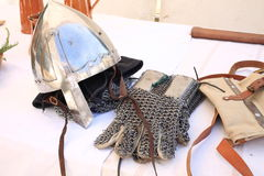 Medieval events. Italy weaponry battle Royalty Free Stock Image