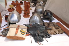 Medieval events Stock Images