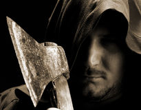 Medieval executioner Royalty Free Stock Photo