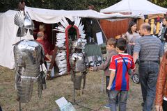 Medieval fair Stock Images