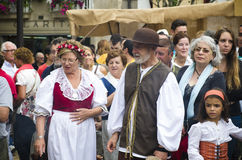 Medieval Fair in Galicia Spain Royalty Free Stock Images