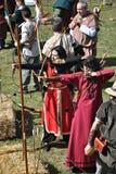 Medieval fair of hostalric Stock Photos