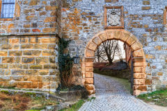 Medieval Fairy Tale Castle Giechburg in the Franconian Swiss of Bavaria Royalty Free Stock Image