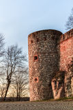 Medieval Fairy Tale Castle Giechburg in the Franconian Swiss of Bavaria Royalty Free Stock Images