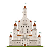 Medieval fairytale castle or palace Stock Photo