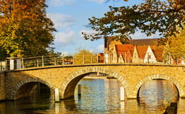 Medieval fairytale city. Stock Image