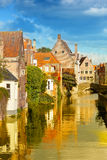 Medieval fairytale city Royalty Free Stock Photography