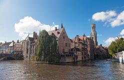 Medieval fairytale city Royalty Free Stock Photos