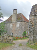 Medieval farm buildings of Abbey grange Stock Photography