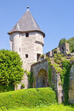 Medieval Father Vink defense tower. Built in 1380, Maastricht, The Netherlands stock photos