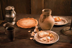 Medieval feast Royalty Free Stock Photography