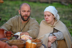 Medieval feast Stock Photography