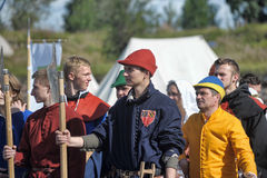 Medieval feast Royalty Free Stock Photos