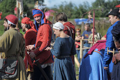 Medieval feast Royalty Free Stock Images