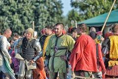 Medieval feast Stock Photos